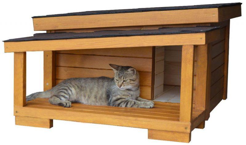 Zateplený domček pre mačku DARLING