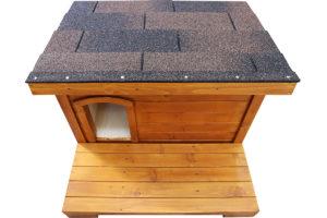 Zateplený domček pre mačku GARFIELD