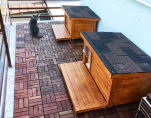 Domčeky pre mačky ELISA