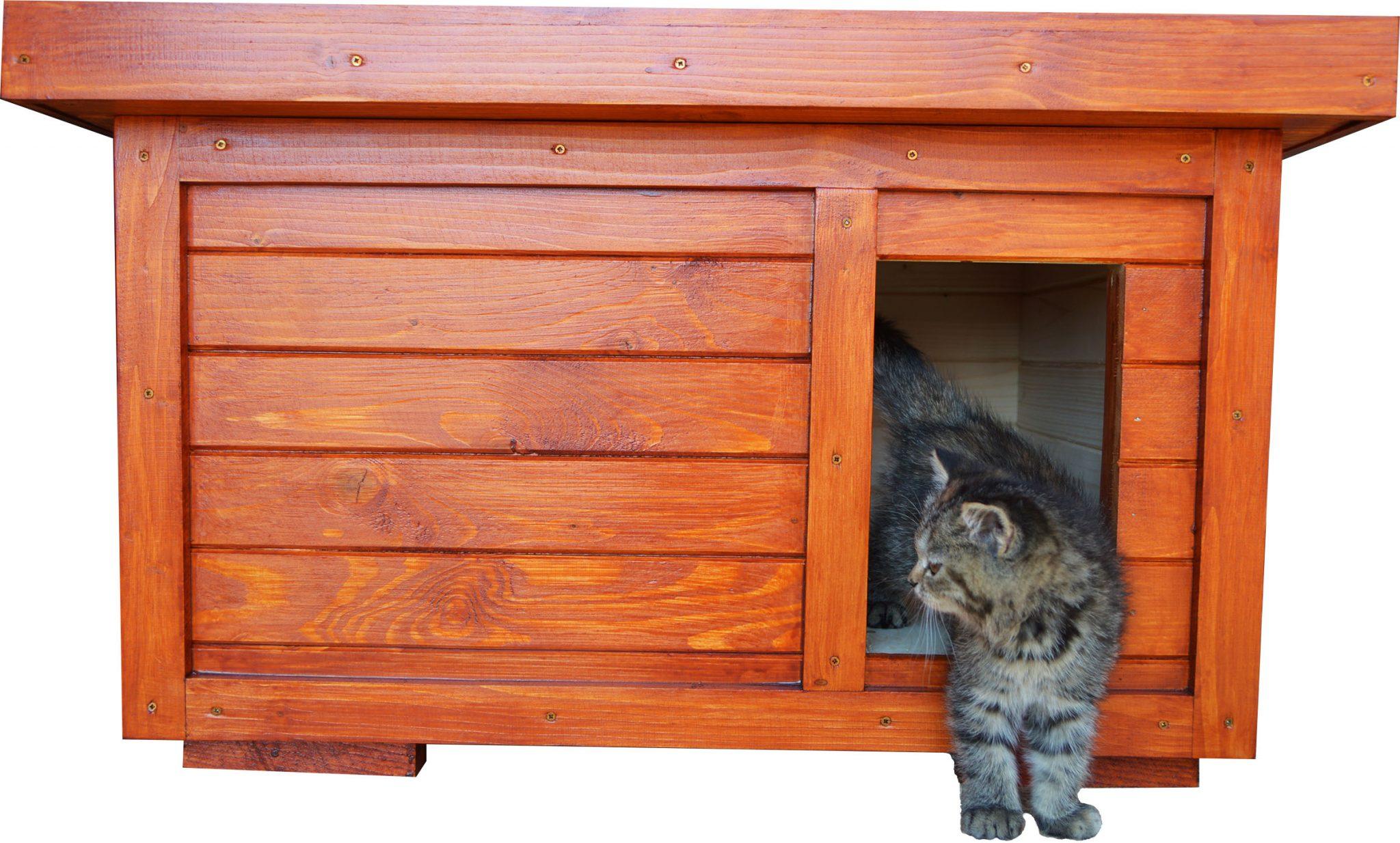 Zateplený domček pre mačku WHISKASS
