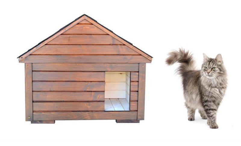 Kompletne zateplený domček MAFIA pre mačku
