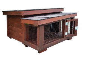 Kompletne zateplený domček DARLING Extra pre mačku