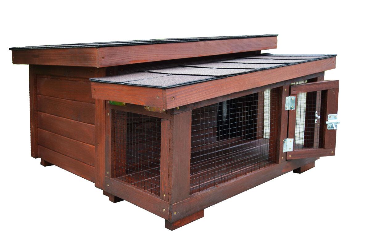 Kompletne zateplený domček DARLING Extra pre mačku 98ef6df7807