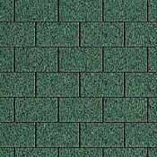 zelený šindeľ obdĺžnik