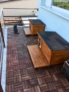Zateplené domčeky pre mačky ELISA