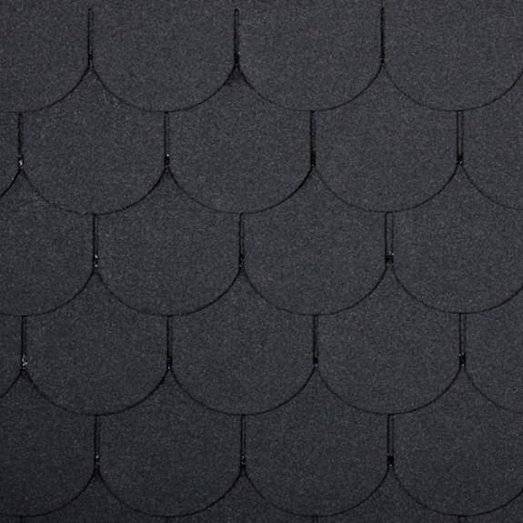 čierny šindeľ bobrovka